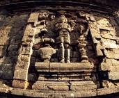 Relief dewa Brahma