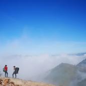 Negeri di atas awan. Dok: Pribadi
