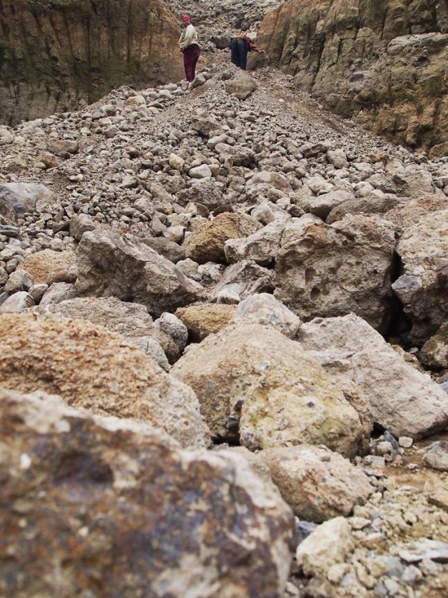 Tumpukan batu