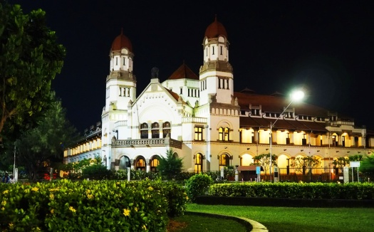 Lawang Sewu at Night